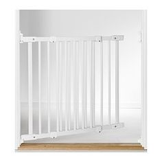 IKEA - PATRULL FAST, Safety gate, You can mount this gate both inside and outside of the door frame, but also in other places you feel the need to protect your child's safety, like below or on top of staircases.The gate opens both inward and outward.