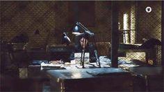 Filmbilder von 'TATORT' Kiel – 'Borowski und die Rückkehr des stillen Gastes' – Szenenbild Martina Brünner – Kamera Philip Peschlow – Regie Claudia Garde