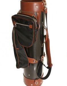 Sports Leather Golf Bag von Treccani Milano.