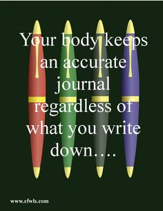 Write it down!  Weight loss journals are an important tool.