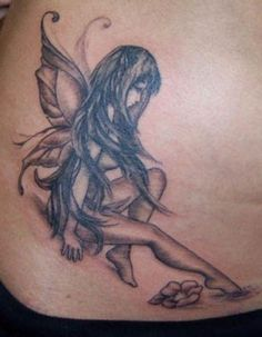 Angel Tattoos For Ladies. >> Learn more by visiting the image