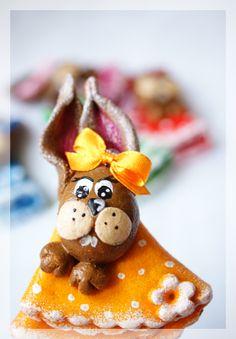 Salt Dough Easter Bunny