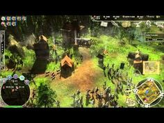 Kingdom Wars - RAW Gameplay 5 - Kingdom Wars Online is an 3D Free to Play Real-Time Strategy MMO Game MMORTS featuring real-time siege combat including both singleplayer and online game modes