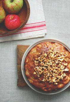 ciasto jabłkowe z mąki gryczanej