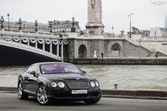 Bentley Continental GT   Diamond Black   by Valkarth