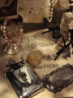 ~Perhaps flea market treasures? Anything pewter/silver and Edwardian age!.