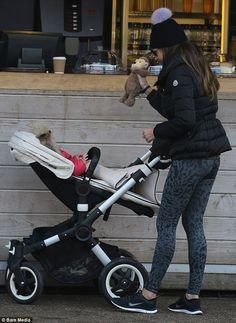 Tamara Ecclestone looks like she's having a blast in the park #dailymail