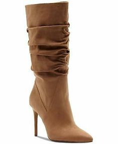 Jessica Simpson Lyndy Slouchy Boots - Brown 7 W Stylish Boots, Sexy Boots, Heeled Boots, Bootie Boots, Knee Boots, Combat Boots, Jessica Simpson Boots, Sexy Stiefel, Ankle Boots