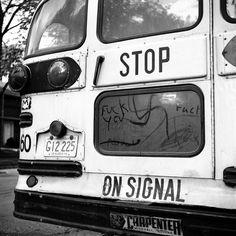 Vivian Maier Chicago Area, Rear View Of School Bus, 1968 Vivian Maier Street Photographer, Best Street Photographers, Vivian Mayer, Milan Kundera, Tribute, Ansel Adams, Street Photography, Urban Photography, Color Photography