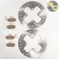 Brake Rotors for fits KTM 300 EXC 1998-2003 Front /& Rear RipTide Brake Discs
