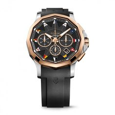 Corum Watch Admiral Legend 42 Corum W Mens Dress Watches, Rolex Watches For Men, Luxury Watches, Corum Watches, Mens Skeleton Watch, Brown Leather Strap Watch, Hand Watch, Automatic Watches For Men, Mechanical Watch