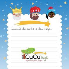 Has escrito ya la carta a los Reyes Magos? Descárgatela en  https://cucutoys.es #cucutoys #juguetes #reyesmagos #carta #niños #regalos