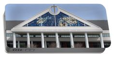 Bellevue Baptist Church Memphis, TN --a scene in the movie CHRISTMAS RIDE (rated PG) was filmed on Bellevue Baptist's campus. This movie carries The Dove Faith and Family Seals, ages 12+  Product is Portable Battery Charger