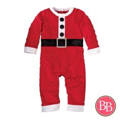 #CountdowntoChristmas Santa Claus is coming to town folks!! In less than 20 days! • Get your orders in this week @brandisboutiqueshop!! Pictured--our Mud Pie Santa Minky One Piece • $32.95 #BBKids #mudpie #christmastimeiscoming #baby #firstchristmas #santa www.brandisboutiqueshop.co > Baby > Holiday Outfits > Christmas