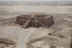 Iraqi Architecture- Ziggurat of Ur, Dhi Qar Province