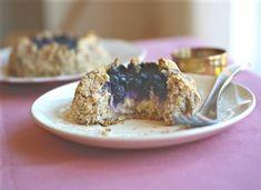 #Grainfree Freeform blueberry cream cheese danish #vegan #dairyfree