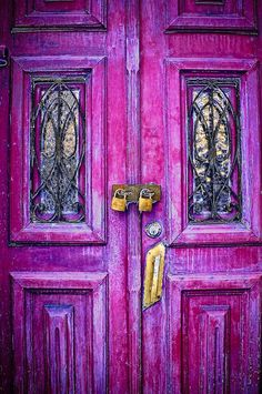 There is a purple door to my ♥! BOHO GEM x