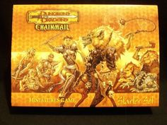 Chainmail D Starter Set Miniatures! Dungeons & Dragons D20 System MINT !!