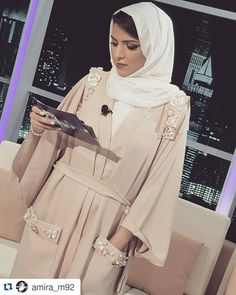 Abaya Fashion, Kimono Fashion, Work Fashion, Modest Fashion, Fashion Dresses, Abaya Pattern, Modern Abaya, Hijab Style Tutorial, Stylish Hijab