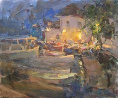 """""""A cozy evening"""" by Vitaly Makarov, 2012"""