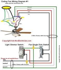 Diagram showing which color wire to use. Basic 12 Volt