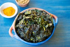 Try our spiced kale chip recipe! It's so delicious you won't be able to stop snacking!