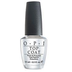 OPI Decklack NT 15 ml Nagellack - Nageldesign Nail Polish Style, Types Of Nail Polish, Top Coat Nail Polish, Clear Nail Polish, Opi Nail Polish, Clear Nails, Opi Nails, Arylic Nails, French Nails