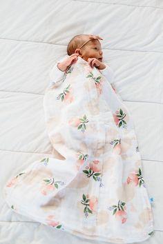 Watercolor Rose Sleep Bag