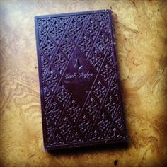 Finding Fine Chocolate: Chocolate Almost Too Beautiful to Eat. Black Fig Bar by Dick Taylor Chocolate