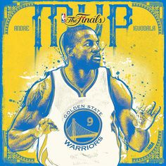 With 25 points, 5 boards, and 5 assists in Game 6, Andre Iguodala is the #NBAFinals MVP!
