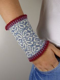"This decorative wrist warm ""OLIVIA"" convinces with its great pattern choice . - - This decorative wrist warm ""OLIVIA"" convinces with its great pattern choice … Mitaines This decorative wrist warm ""OLIVIA"" convinces with its great pattern choice … Fair Isle Knitting, Hand Knitting, Knitting Patterns, Vintage Knitting, Stitch Patterns, Knitted Gloves, Crochet Gloves Pattern, Mittens, Ganchillo"