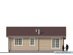 Проект дома из клееного бруса Нарва Cottage House Plans, Small House Plans, Cottage Homes, Home Technology, Cabana, Garage Doors, Shed, Outdoor Structures, How To Plan