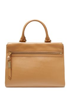 Sherry Leather Satchel by Foley & Corinna at Gilt