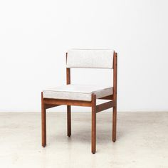 "The ""Tião"" dining chair is a straightforward, elegant piece, designed by Sergio Rodrigues, ""father of Brazilian modern design"", during an early period of his career."