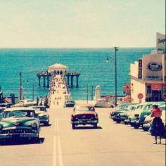 Manhattan Beach, California, 1950s