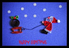 Father Christmas - Quilled Creations Quilling Gallery