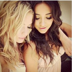 Shay Mitchell and Ashley Benson #bestfriendshots