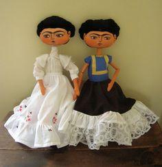 Frida Kalho Art Dolls