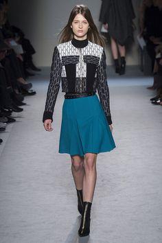 roland mouret fall 2015  godets in skirt front godet is 'M' shaped?