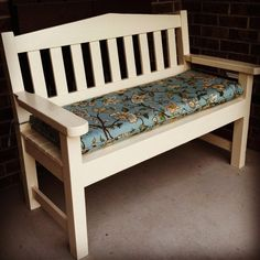 Ana White   Garden Bench!! - DIY Projects