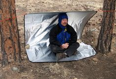 The Original Space All-Weather Blanket- One of the greatest survival tools ever (we're serious!) Grabber Outdoor's Space All-Weather Blanket just might be the single greatest piece of survival gear I own.