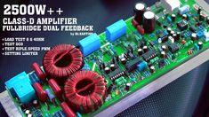 Class-d High power amplifier Class D Amplifier, Circuit, Electronics, Consumer Electronics