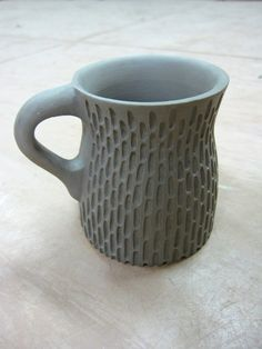 Textured Thrown Mug 1