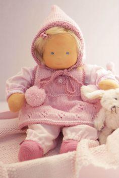 Babypuppe Elfie Stoffpuppe