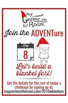 Hi ADVENTurers! Ready for day 8? We're building a fort!