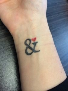 This is every reason I love my ampersand tattoo