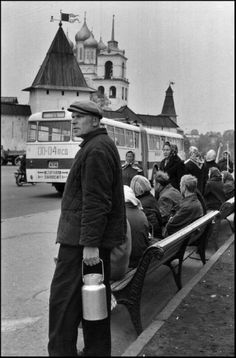 Henri Cartier-Bresson // SOVIET UNION. Russia. Pskov. 1973