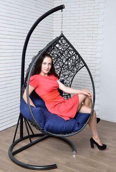 красивое современное и удобное подвесное кресло Оливия  подвесное модерн высокое…