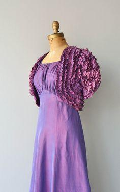 FabryPérot dress vintage 1930s dress 30s dress and by DearGolden
