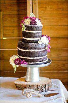 pasteles de boda rusticos naked cake - Buscar con Google